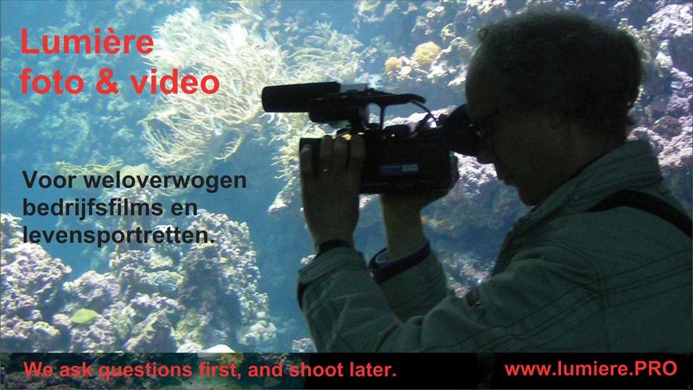 Lumiere.pro - maakt uw levensportret op video of een (bedrijfs)film voor uw site